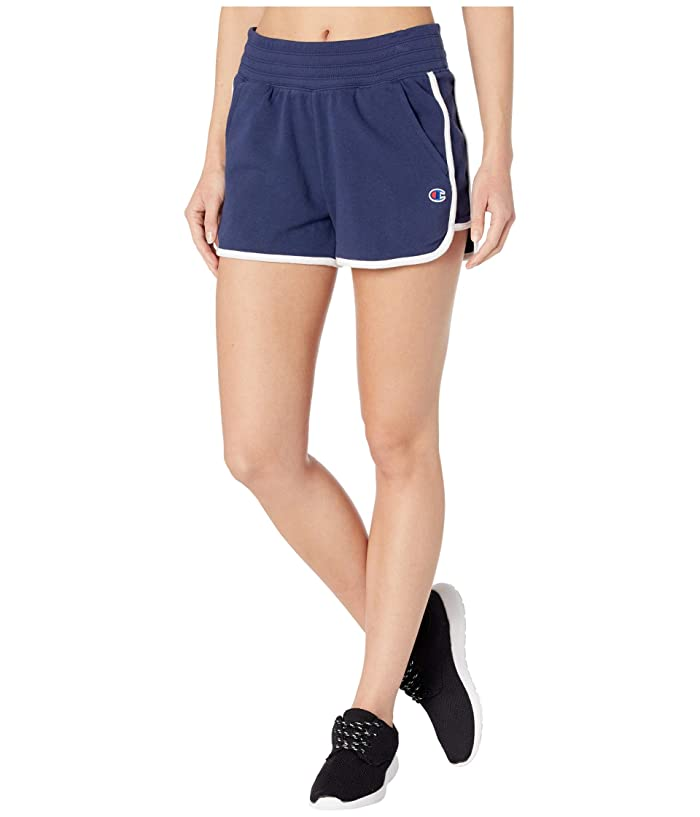 Champion  Campus French Terry Shorts (Athletic Navy) Womens Shorts