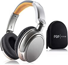 Over Ear Wireless Bluetooth Stereo Headphones | Built in Mic and Optional Wired Mode | 16 Hour Battery Life | Compatible w...