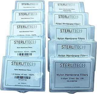 Nylon Membrane Filter, 0.45 Micron Pore Size, 25 mm Diameter, 100/pk - NY4525100