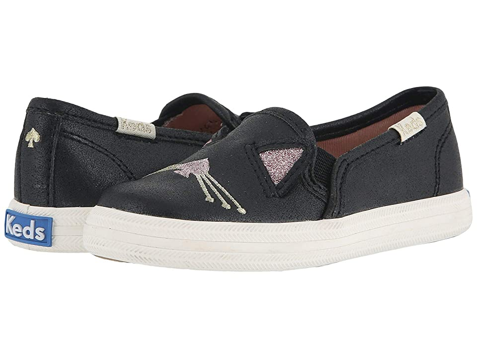 Keds x kate spade new york Kids Double Decker (Toddler) (Hayden Cat) Girl