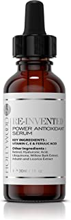 Power Antioxidant Serum – With 300% more Ferulic acid and vitamins C & E. STRONGER than all the rest, dosed to save you mo...