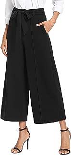 Women's Loose High Waist Wide Leg Pants with Pockets