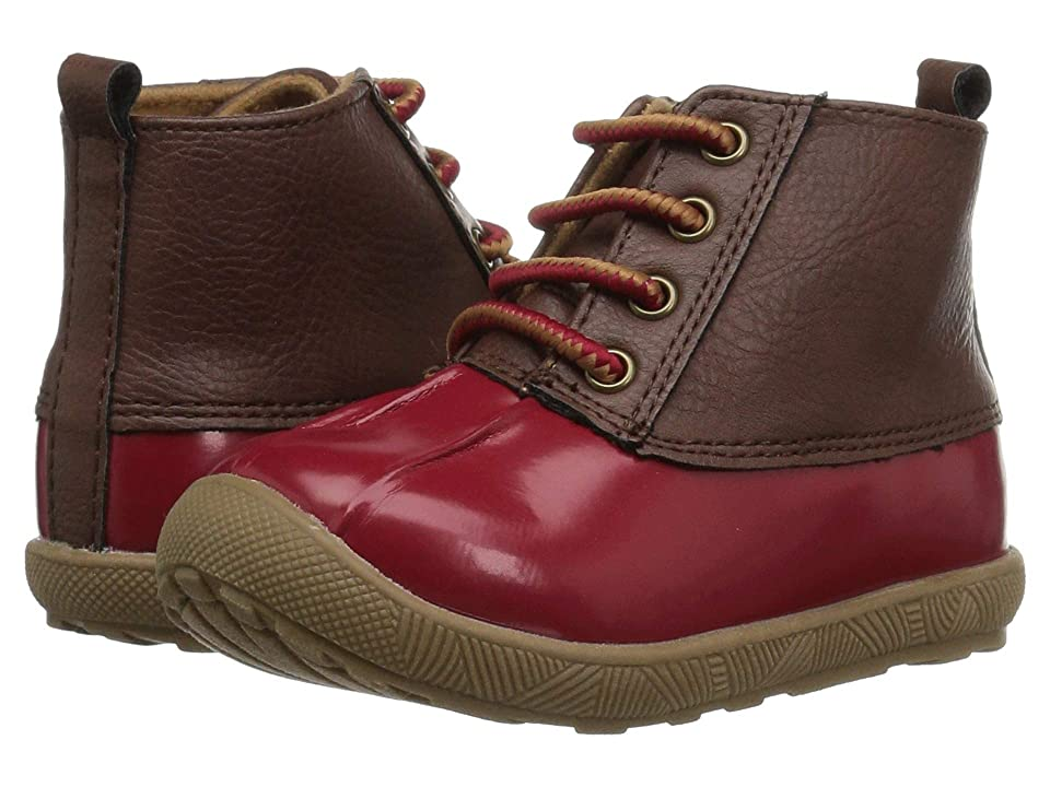 Baby Deer First Steps Duck Boot (Infant/Toddler) (Red 1) Girl