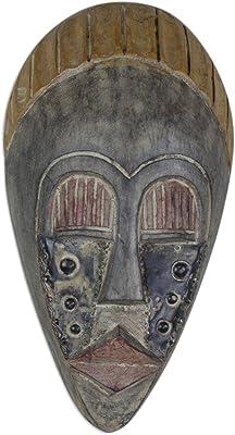 Amazon.com: El aliado, máscara de madera tribales africanos ...