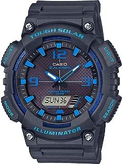 Mens Analogue-Digital Quartz Watch with Resin Strap AQ-S810W-8A2VEF