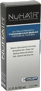 Natrol, Nuhair Thinning Hair Serum, 3.1 Fl Oz