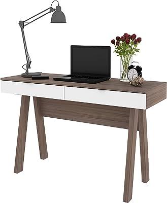 OneSpace Monterey Computer Desk, Oak with White
