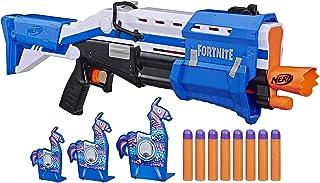 Nerf Fortnite TS-R Blaster & Llama Targets Pump Action Blaster, 3 Llama Targets For Youth,Teens & Adults