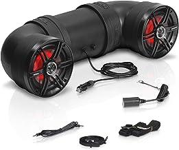 $169 » Sound Storm Laboratories BTB6L ATV UTV Weatherproof Sound System - 6.5 Inch Speakers, 1 Inch Tweeters, Amplified, Bluetoot...