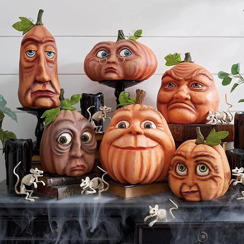 XFSSFWB Expressive Pumpkin Super popular specialty store Family Halloween New item - Figurines
