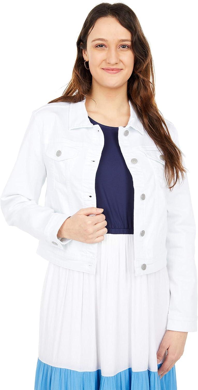Southern Tide White Jean Jacket