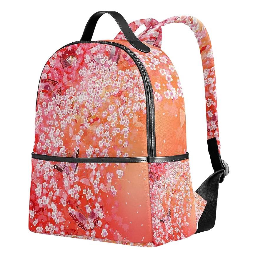 背骨最後にフィードリュック おしゃれ 大容量 軽量 レディース 花 花柄 和風 日本風 レッド リュックサック 通学 多機能 プレゼント対応