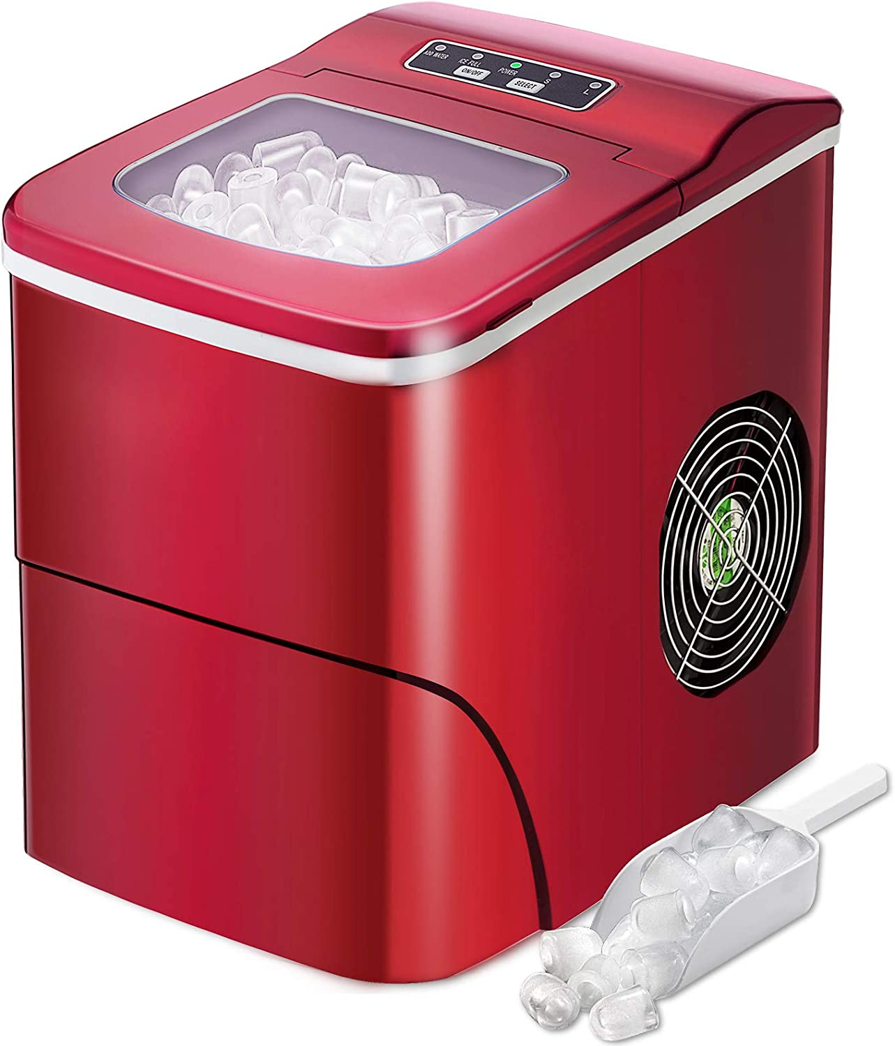 AGLUCKY shopping Counter top Shipping included Ice Maker Compact Machine Automatic Make