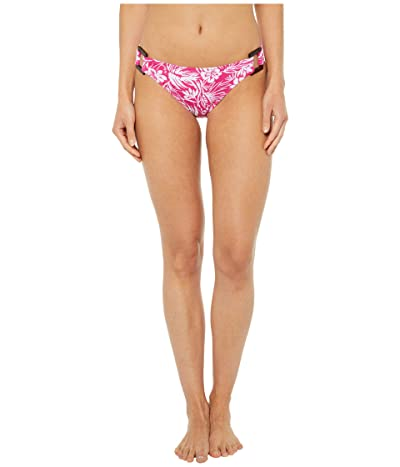 Roxy Blooming Ride Moderate Swim Bottoms (Beetroot Purple Island Cove) Women
