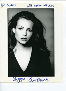 Saffron Burrows The Bank Job Law & Order: Criminal Intent Troy Sexy Signed Photo