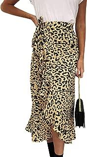 Simplee Apparel Women's High Waist Beach Wrap Maxi Skirt Cover Up