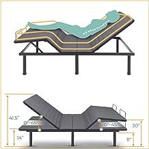 Classic Brands Adjustable Comfort Affordamatic 2.0 Adjustable Bed Base, Queen