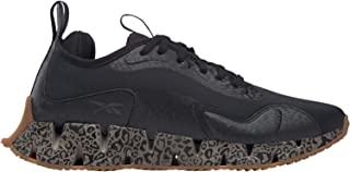 Reebok Zig Dynamica Mesh Textile Patterned Chunky Sole Lace-Up Running Shoes for Women