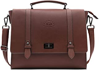 Laptop Bag,15.6 Inch Women Laptop Briefcases Business Laptop Shoulder Bags Structured Work Tote Bag with Professional Padded Compartment for Tablet Notebook Ultrabook