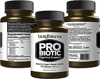 Organfi: Biotic Balance Probiotic - Digestion Support - 30 Day Supply - 1 Capsule Daily - 50 Billion CFU - 10 Strains