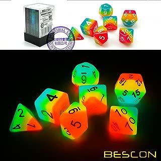 Best glow in the dark rainbow dice Reviews