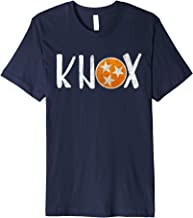 Knox Vintage Distressed Knoxville Tennessee Fan Football Premium T-Shirt