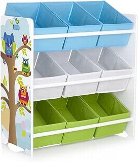 Leomark Shelf toddlers  Shelving toys children s items  Owl theme