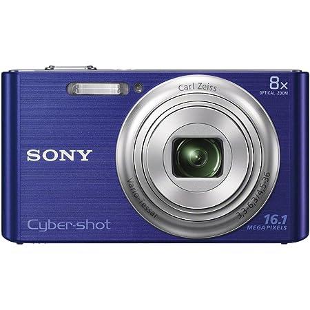 Sony Dsc W730 Digitalkamera 2 7 Zoll Blau Kamera