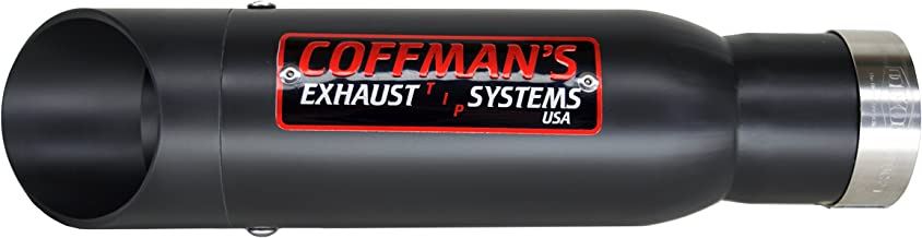 Coffman's Shorty Exhaust for Yamaha R6 R6R (2003-2005) & R6S (2006-2009) with Black Tip