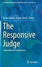 The Responsive Judge: International Perspectives (Ius Gentium: Comparative Perspectives on Law and Justice)