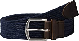 34mm Braided Fabric Stretch Belt