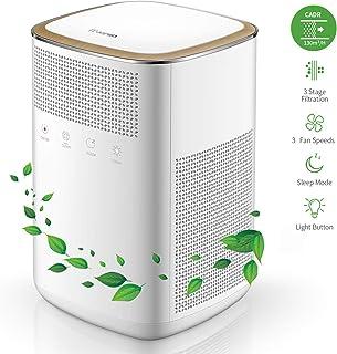 iTvanila 空気清浄機 3M True HEPAフィルター 部屋空気清浄機 静か 99.97% 空気清浄機 臭いアレルギー 煙除去 ホワイト