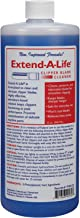 Top Performance Extend-A-Life Blade Rinses — Handy Cleaners for Dog-Grooming Clippers, 32oz