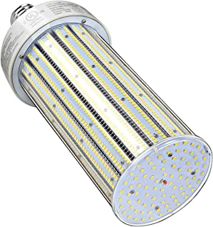 250 Watts LED Corn Light Bulb E39 Mogul Base 5,000K Daylight Retrofit Conventional Factory Warehouse Workshop HID High Bay Fixture UL Listed DLC Approved (Only for Open Fixture)