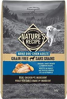 Nature's Recipe Adult Grain Free Chicken, Sweet Potato & Pumpkin Recipe Dog Food 5.4kg