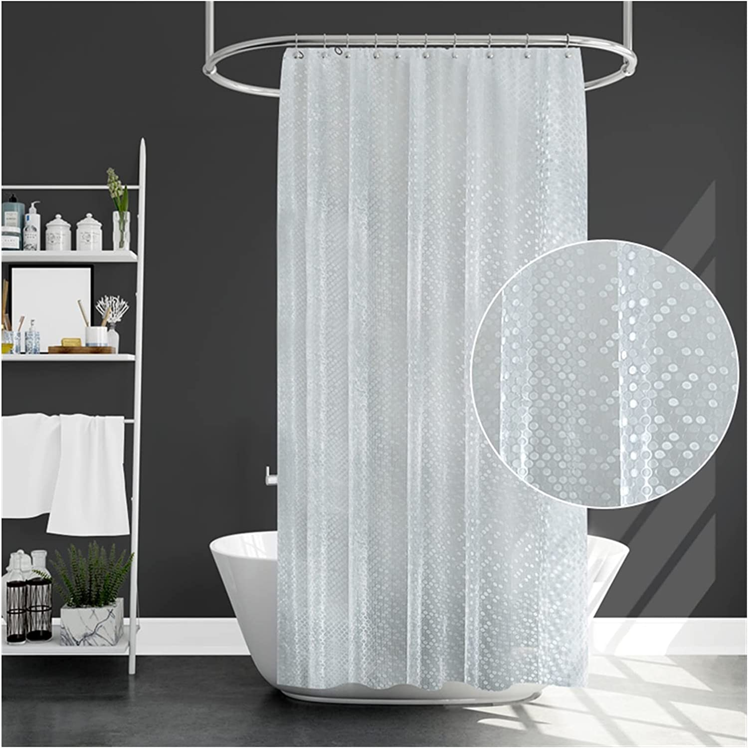 ZXCVB ZHENZEN Los Angeles Mall Bathroom Shower Sen Curtain Materials Quick-Drying Selling and selling