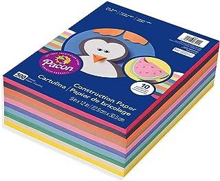 Pacon Lightweight Super Value Construction Paper 6555, 9