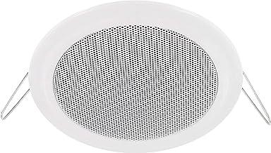 Altavoz empotrable–Completo Metal–14W RMS–60W de potencia musical–Diámetro 135Mm–Ø 108mm–Montaje de sujeción de la instalación