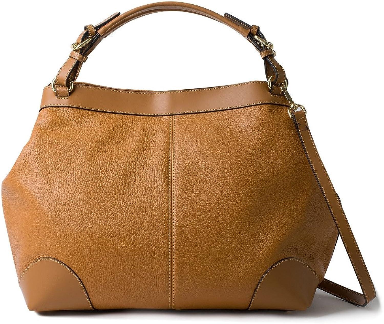 HONEY BAG Italian Leather Calf leather woman's purse  NOEMI  OCHRE