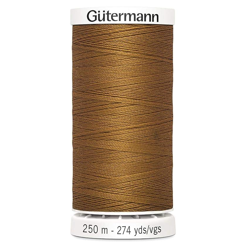 Gutermann Sew All Polyester Thread, 250mtr, Toffee (0448), 5.5 x 2.7 x 2.7 cm