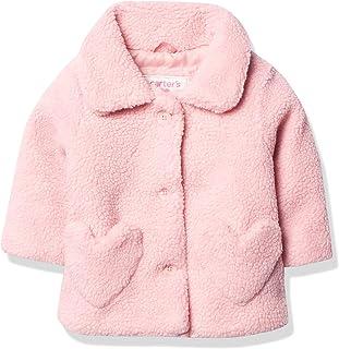 Baby Girls' Cozy Sherpa Coat Jacket