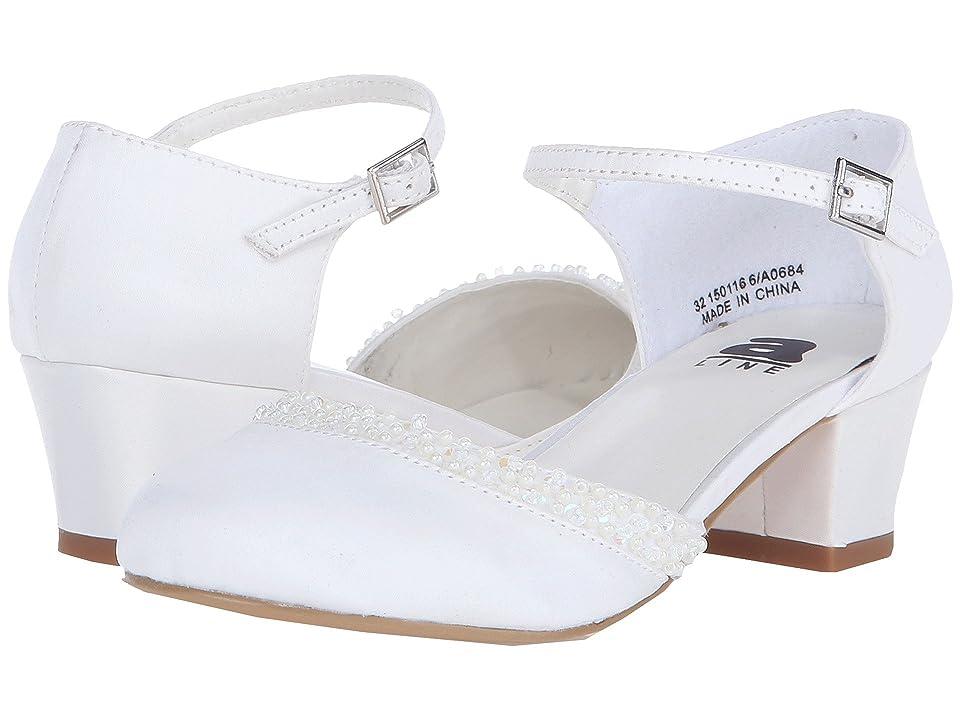 Amiana 6-A0684 (Toddler/Little Kid/Big Kid/Adult) (Bone Satin) Girls Shoes