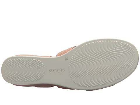 ECCO LeatherIndigoRose Shape Leather Sandal Dust Plateau Cow Wedge Black Cow 6w6gqPnrxO