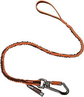 Ferramenta de absorção de choque com mosquetão giratório, capacidade de peso da ferramenta 11 kg, lulas Ergodyne 3109, lar...