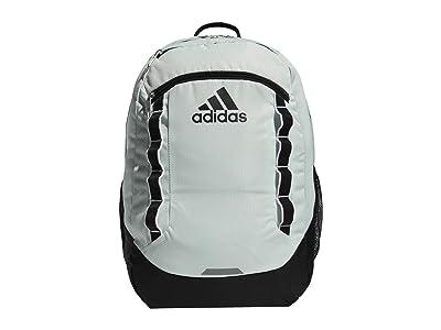 adidas Excel V Backpack (Dash Green/Black/White) Backpack Bags
