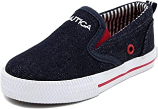 Kid's Akeley Youth Slip-On Casual Shoe Canvas Sneaker