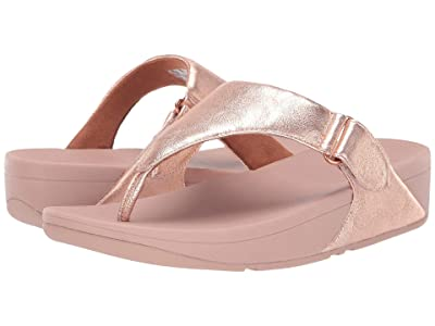 FitFlop Sarna Toe Thong Sandal (Rose Gold) Women