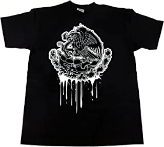 CaliDesign Mexico Eagle Dripping Flag T Shirt Mexican Art Tattoo Brown Pride Cholo Chicano