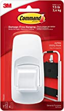 Command Jumbo Plastic Hook with Adhesive Strips 1 ea (Pack of 2)