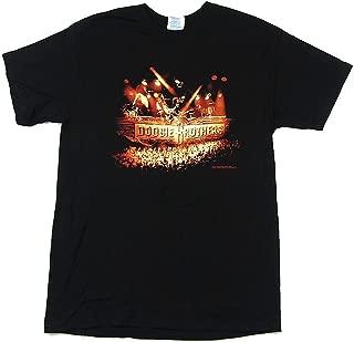 Live Stage Pics TX-GA Tour Black T Shirt